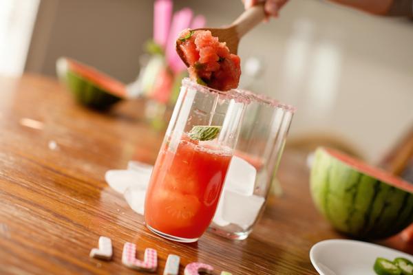 watermelon mojito pulp