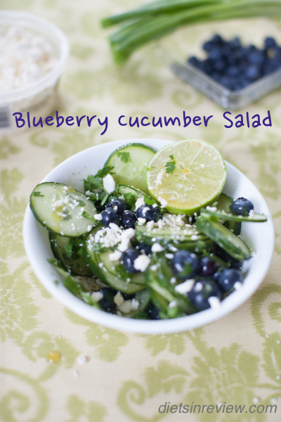 blueberry cuc salad