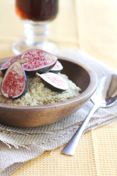 fig honey quinoa
