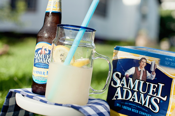 sam adams summertime lemonade