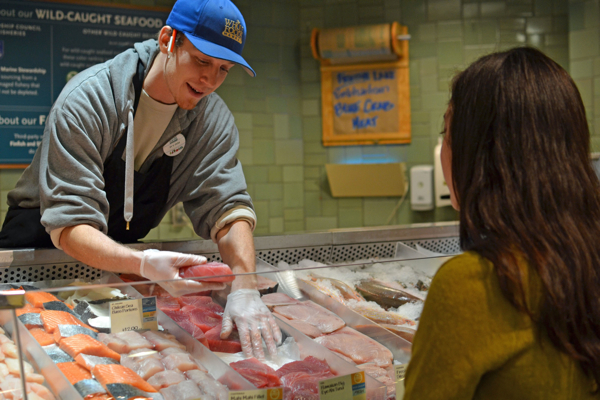 whole foods fishmonger