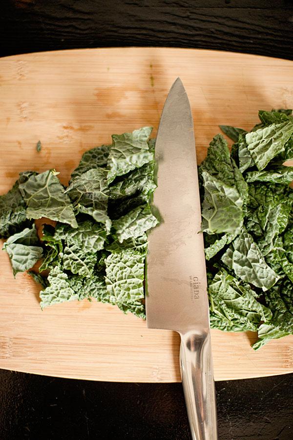chopped-kale