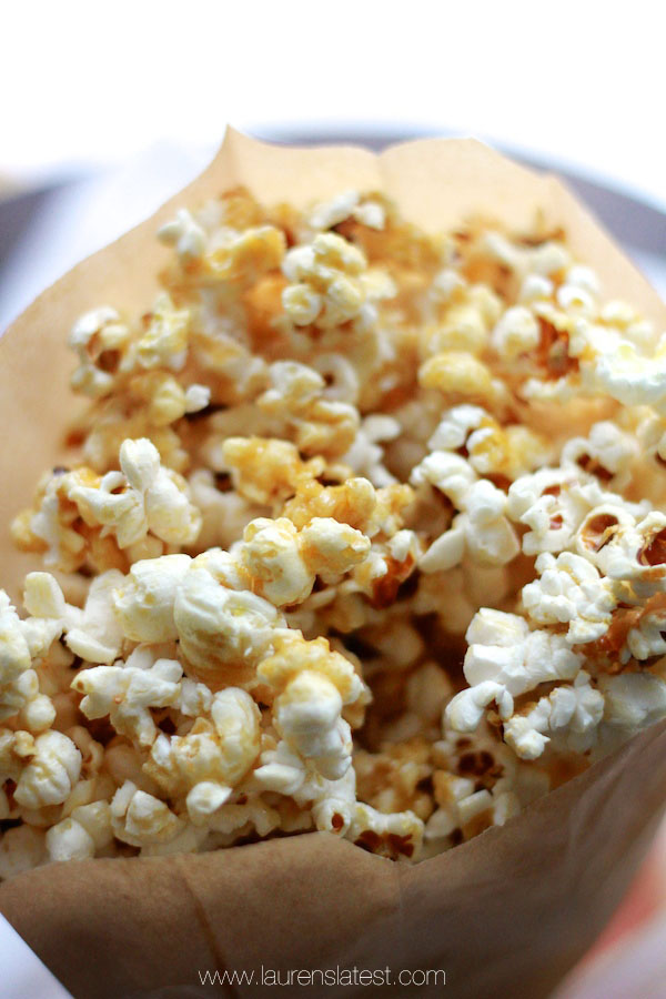 clean caramel corn laurenslatest
