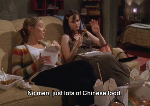 gilmore girls chinese food