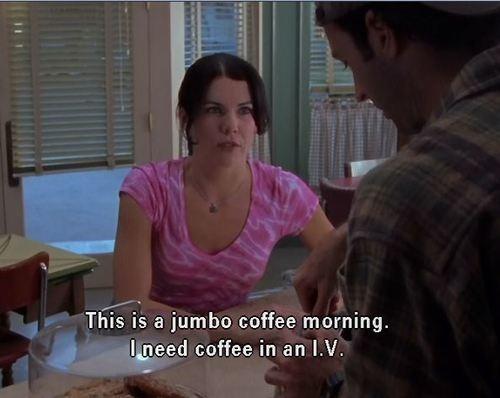 gilmore girls coffee