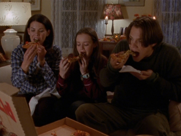 gilmore girls pizza