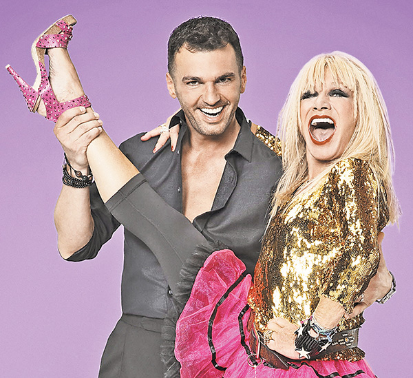tony dovolani Betsey Johnson