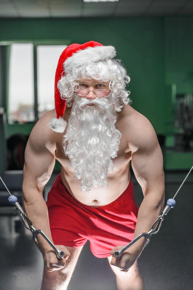 3 santa weights