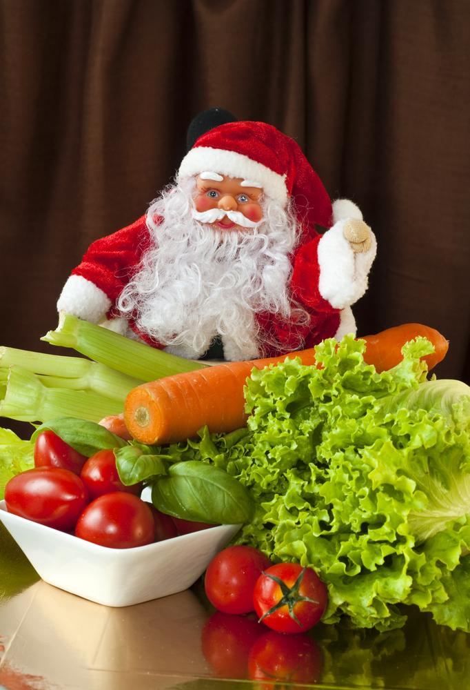 4 santa veggies
