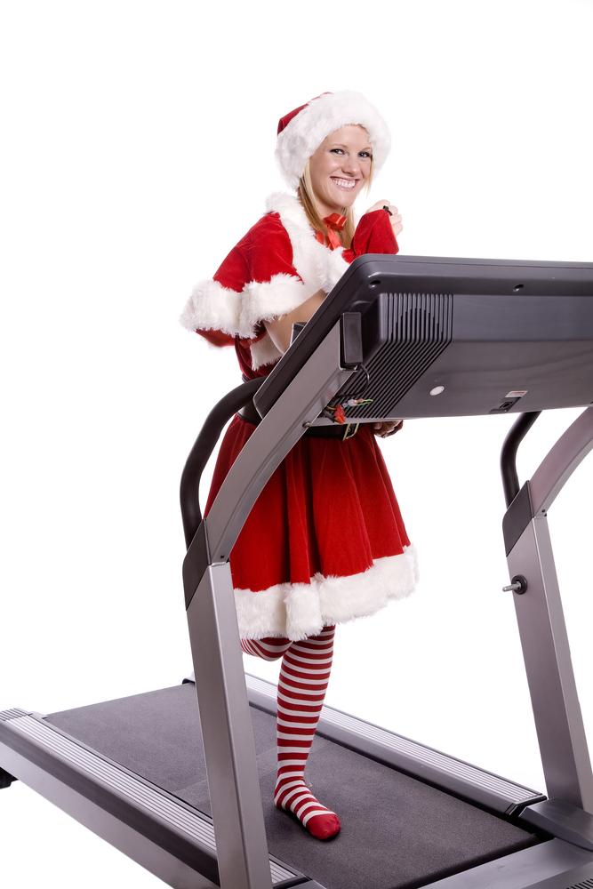 6 santa treadmill