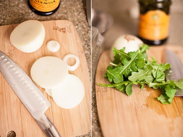 onions-and-arugula