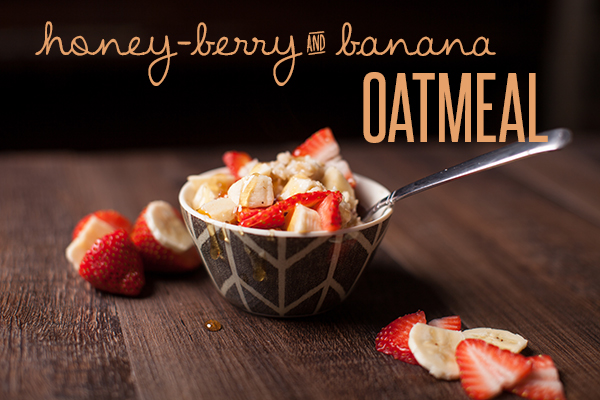 strawberry-banana-oatmeal