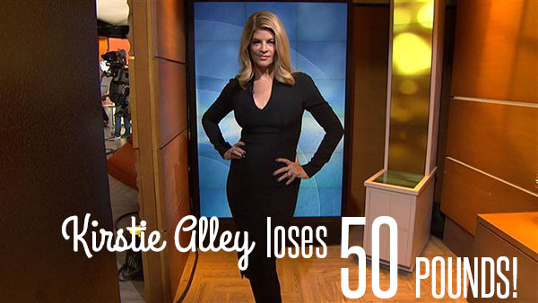 kirstie alley 50 pounds