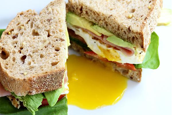fried-egg-breakfast-sandwich-yolk