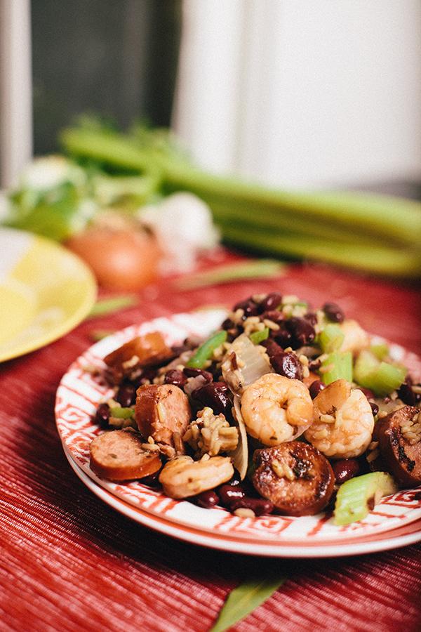 shrimp-sausage-red-beans-rice