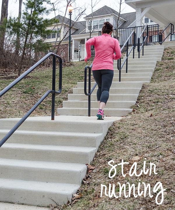stair running acacia