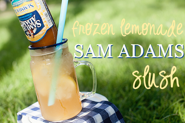 sam adams lemonade slush