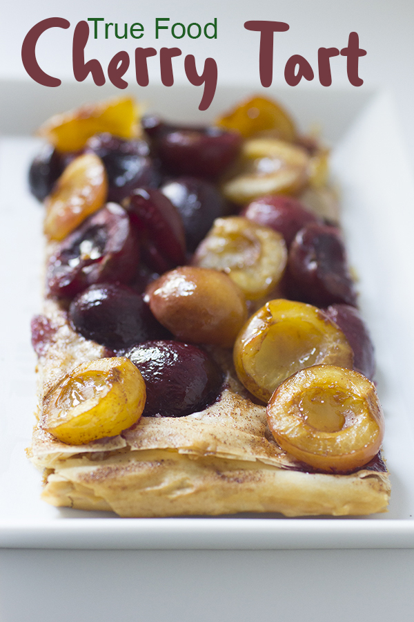 true food cherry tart