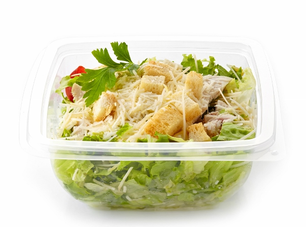salad in a plastic take away box