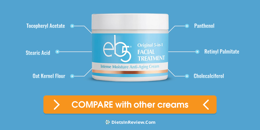 Eb5 facial cream ingrediants