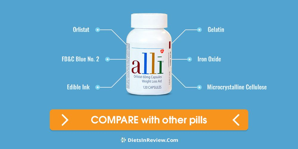 Amazon alli diet pills
