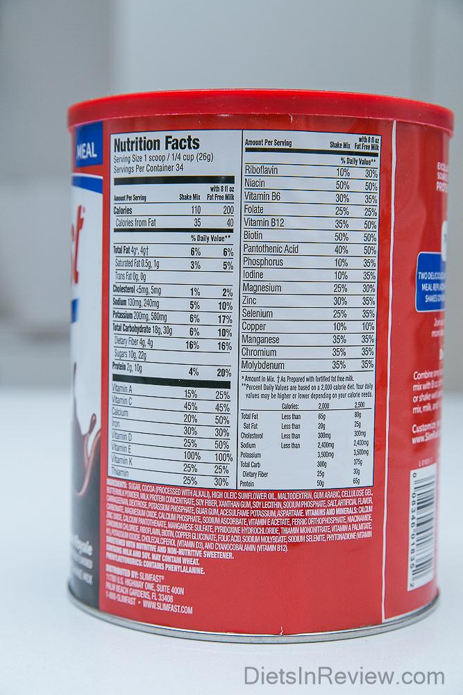 slim-fast-ingredients