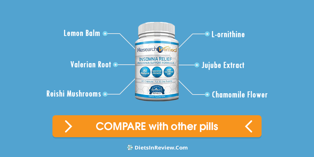 Research verified insomnia relief review updated 2018 dont buy research verified insomnia relief ingredients and side effects publicscrutiny Image collections