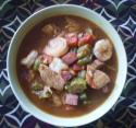 Chicken and Shrimp Gumbo Photo