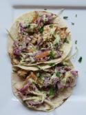 BBQ Chicken Tacos with Avocado Coleslaw Photo