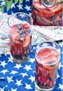 Red, White and Blue Sangria Photo
