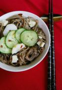 Asian Inspired Cold Noodle Salad Photo