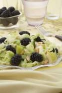 Blackberry Pear Asian Salad Photo