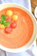 2 Ingredient Melon Ball Soup Photo