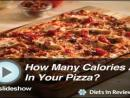 How Many Calories are in Your Pizza