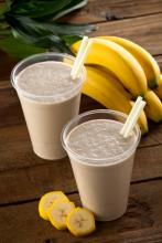 Banana Flax Smoothie Photo