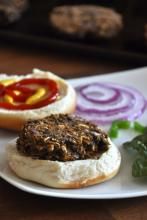 Black Bean Sweet Potato Burgers Photo