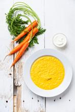 Creamy Carrot Soup Photo