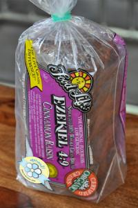Best Bread: Ezekiel 4:9 Cinnamon Raisin