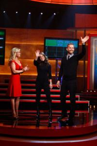 Alison Sweeney, Jillian Michaels and Bob Harper