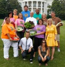 Biggest Loser White House Salad Photo
