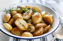 Roasted Potatoes With Garlic Photo
