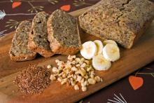 Banana Flax Loaf Photo