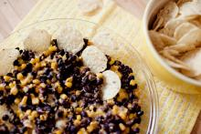 Cheesy Black Bean and Sweet Corn Dip Photo
