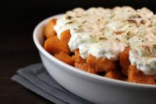 Roasted Candied Sweet Potatoes Casserole Photo