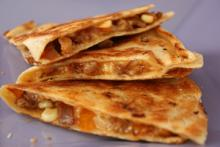 Quick Apple Sausage Quesadillas Photo