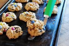 Unreal Candy Peanut Butter Oatmeal Cookies  Photo