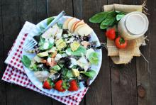 Chicken and Apple Cobb Salad Photo