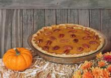 Gingersnap Pumpkin Pecan Pie Photo