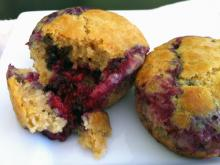 Blackberry Muffins Photo