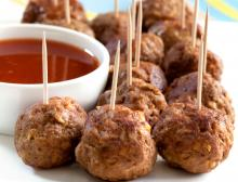 Oprah's Turkey Meatballs Photo